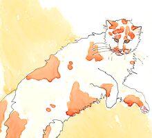 Orange Cat by artworkbySARA