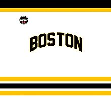 Boston Blades Case (No Number, White) by seeaykay