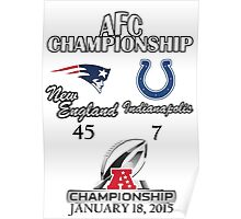 AFC Championship Poster