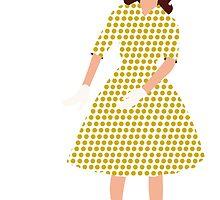 Steam Punk 50s-60s Dot Style Gold by TweedleDeem