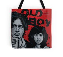 Old Boy - a film by Park Chan-Wook - movie poster Tote Bag