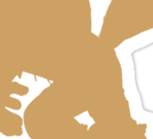 Fox McCloud silhouette Sticker