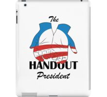 Barack Obama, The Handout President iPad Case/Skin