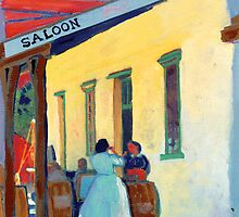 Saloon Girls  by RDRiccoboni