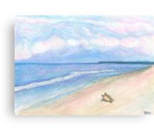 Sunday Morning on Flagler Beach Canvas Print