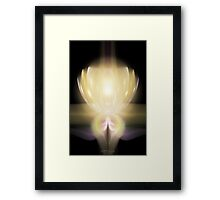 the Enlightened One    080722.13-19.cml03.3 Framed Print