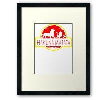 Hakuna Framed Print