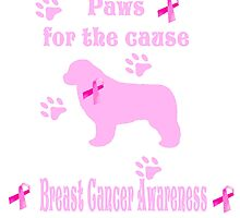 Paws For The Cause Newfoundland Dog by Newfiemom