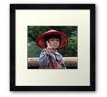 Little China Doll Framed Print