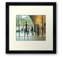 The unknown force.... Framed Print