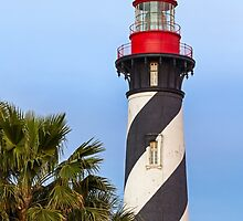 Lighthouse in St. Augustine, Florida by Kenneth Keifer