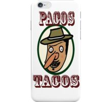 Pacos Tacos iPhone Case/Skin