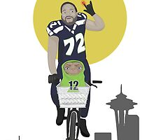 Michael Bennett Does Victory Lap With ET by LilCurious