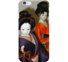 Japanese Dolls #1 iPhone Case/Skin