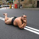 sumo steve does a yokozuna musashimaru! by bodymechanic