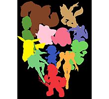 The Original Smash Crew silhouettes Photographic Print