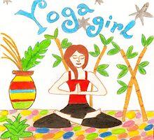 Yoga Girl by AnnetteM5