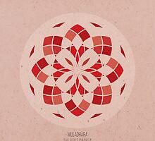 Muladhara - The Root Chakra Mandala by goldsoul
