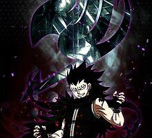 Gajeel- Iron dragon slayer magic by makoy