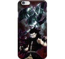 Gajeel- Iron dragon slayer magic iPhone Case/Skin