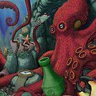 Octopus's Garden by Octomanart