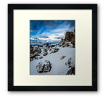 Snowy Delight Part 2 Framed Print