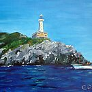 Punta Carena Lighthouse by Carole Russell