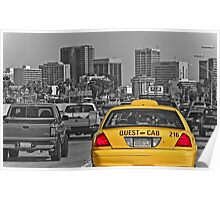 Welcome to San Diego-Yellow Cab Poster