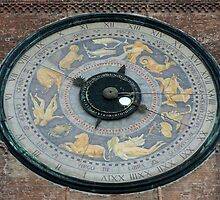 Clockface on the Duomo in Cremona by CiaoBella