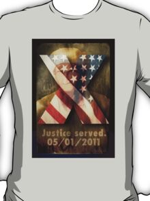 Justice Served. T-Shirt