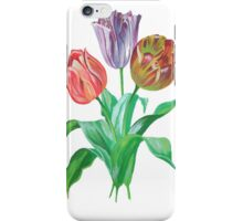 Tulip Trio Tee iPhone Case/Skin