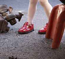Lil' red shoes by JessieMac