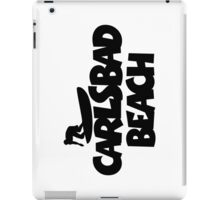 Carlsbad Beach Surfing iPad Case/Skin