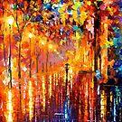 Dreaming Rain — Buy Now Link - www.etsy.com/listing/218300331 by Leonid  Afremov