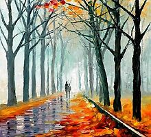 Missing Leaves — Buy Now Link - www.etsy.com/listing/219187903 by Leonid  Afremov