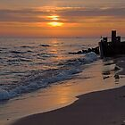 Twilight on Lake Michigan by Mike Griffiths