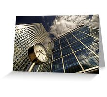 Because Time is Money Greeting Card