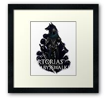 Artorias The Abysswalker Framed Print