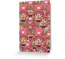 Chopper all over  Greeting Card