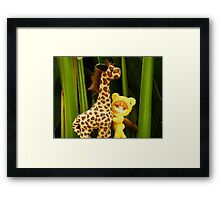 Goldie Belle's Friend Framed Print