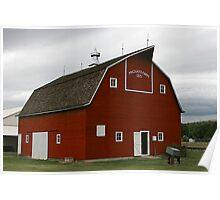 Pritchard Barn, Kansas Poster