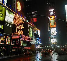 New York City - Times Square by Will Edwards