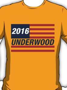 Frank Underwood For US President 2016 T-Shirt
