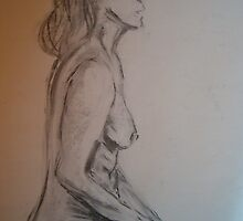 20 Minute Nude (Charcol July 2008) by fatchickengirl
