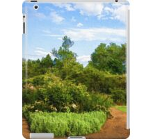 Impressions of London – Gardens at St James's Royal Park iPad Case/Skin