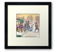 Searching For Infidel Readership  Framed Print