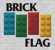 Brick Flag B Kids Clothes