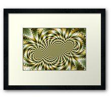 Swirl Fractal 3 Framed Print