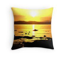 Sunset In Batemans Bay. Throw Pillow