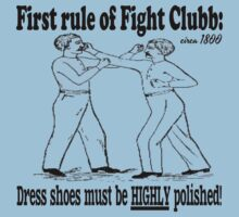 First Rule of Fight Clubb T-Shirt